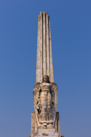 Obelisk of Horea, Closca and Crisan - famous romanian peasants, in Alba Iulia, Transylvania,  Romania