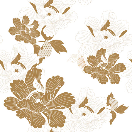 New Year decoration and ornaments illustration vector in Japanese style.