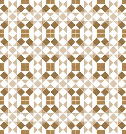 American antiques pattern vector. Gold geometric background for backdrop, textile, template. 向量圖像