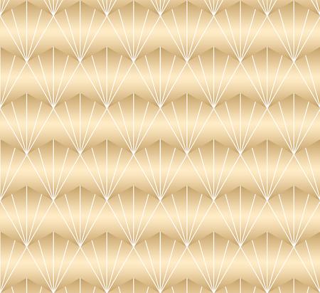Gold geometric pattern vector.