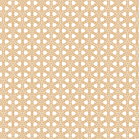 Japanese Gold background and pattern. geometric. The exquisitely delicate side of traditional woodwork style-rooms to create a stunning atmosphere. Geometric pattern vector.