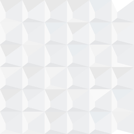 Abstract white geometric background. .Gray gradient texture. Vector Illustration.