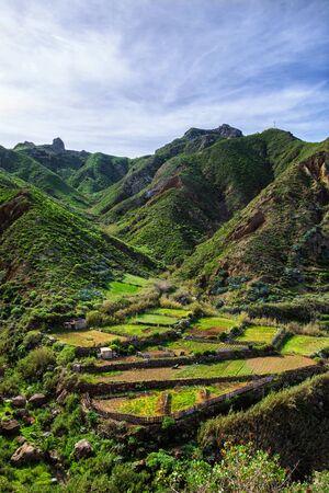 Anaga mountain in Tenerife island, Canary, Spain Archivio Fotografico