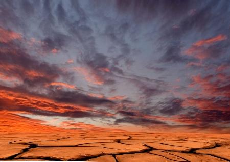 Drought land 写真素材
