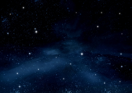 free image: Stars of a planet and galaxy in a free space  Elements of this image furnished by NASA
