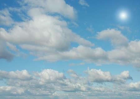 Cloudy sky background Фото со стока
