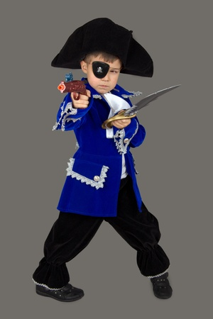 frock coat: The pirate