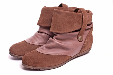 voguish: female leather boots