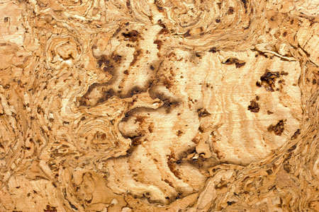 close up of a cork board background texture