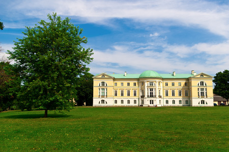 classicism: The Mezotne Palace - The Pearl of The Latvian Classicism
