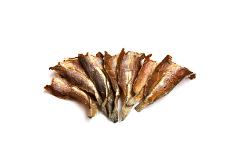 snakehead: Drying up salted snake-head fish