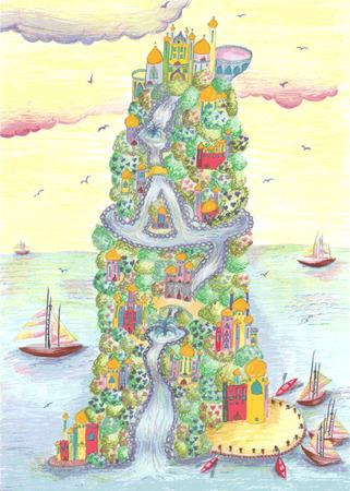 arthur: The mysterious island of king Arthur.