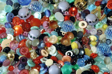 hemispherical: buttons Stock Photo