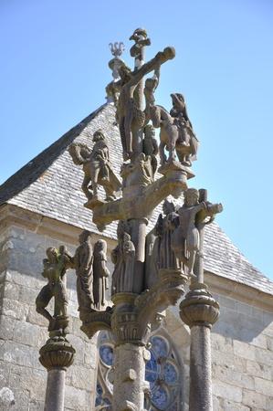 suggestive: suggestive breton calvary