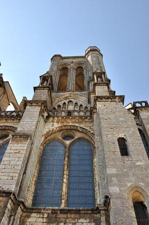 gotico: la imponente catedral de Chartres