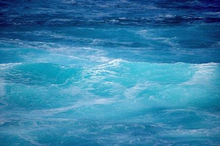 blue water in the ocean