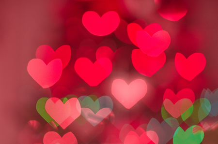 backround of red hearts on the valentane's day