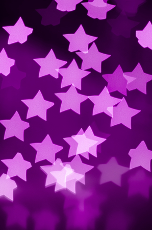 bokeh - lights of the stars (purple)