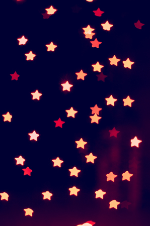 bokeh - lights of the stars