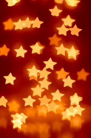 bokeh - lights of the stars (orange)