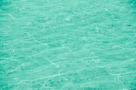 clear blue  water. Pastel color Stock Photo