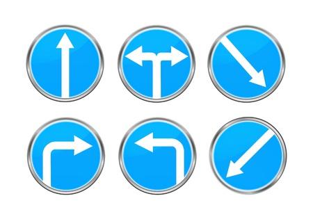road ring: Road signs set 1