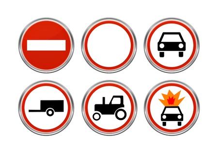 road ring: Road signs set 4