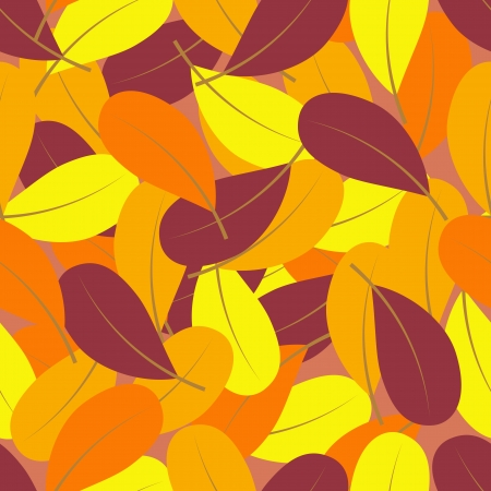 Leaf seamless pattern Vector
