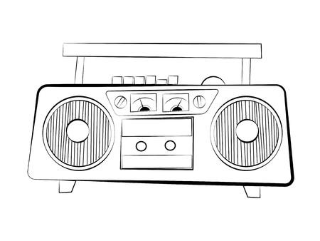 recorder: Cassette recorder