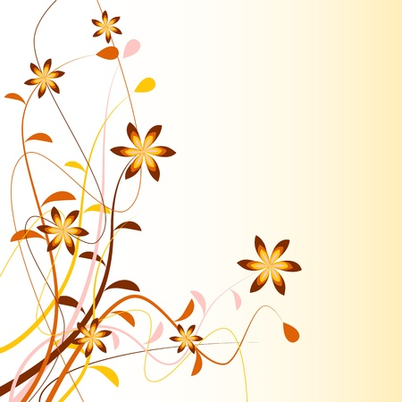 floral background Stock Vector - 14950350