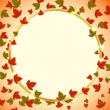 Autumn vector background Stock Vector - 15083786