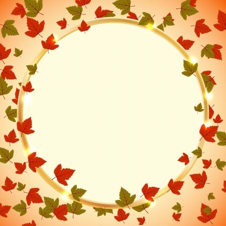 Autumn vector background Stock Vector - 15083786