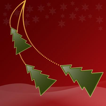 Christmas card Stock Vector - 15167037