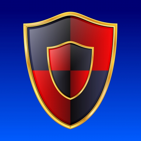 Vector shield icon Vector