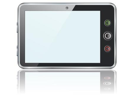 palmtop: Vector smartphone icon