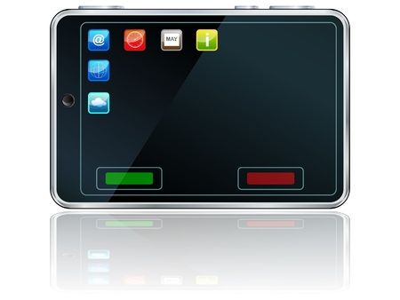 Vector smartphone icon Stock Vector - 15479280