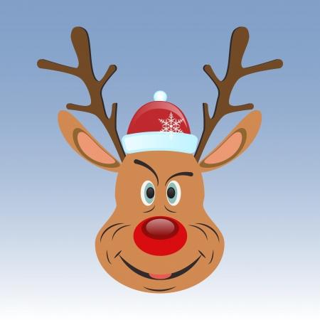 Reindeer icon Stock Vector - 15466107