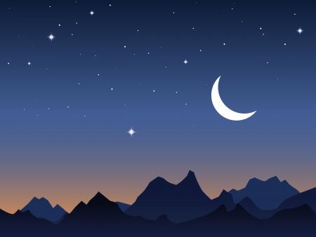 Dawn sky vector background Stock Vector - 16832754