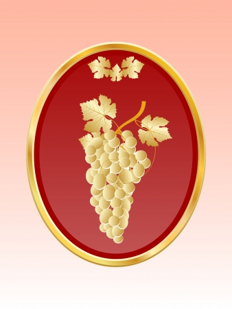 armorial: Shield with grape bunch