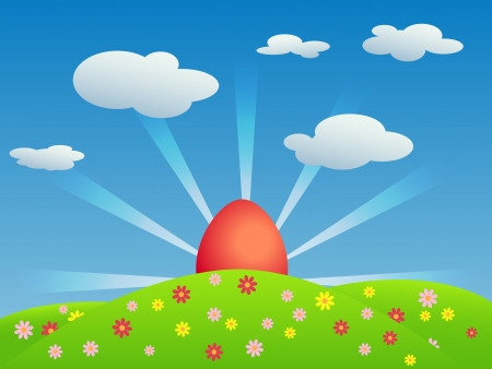 Easter vector background Stock Vector - 17369364