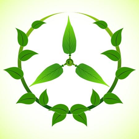 Green energy concept Stock Vector - 18919964