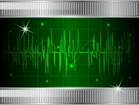 oscillation: Fondo futurista abstracto