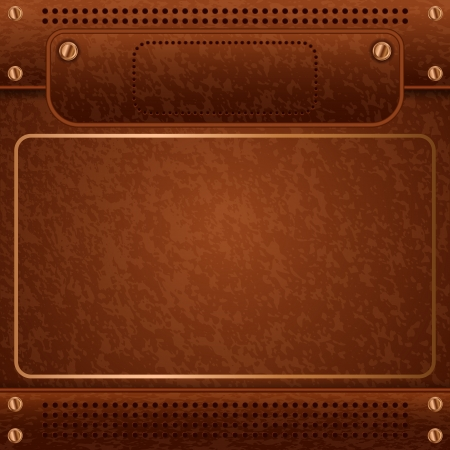 Leather vector background Stock Vector - 20128848