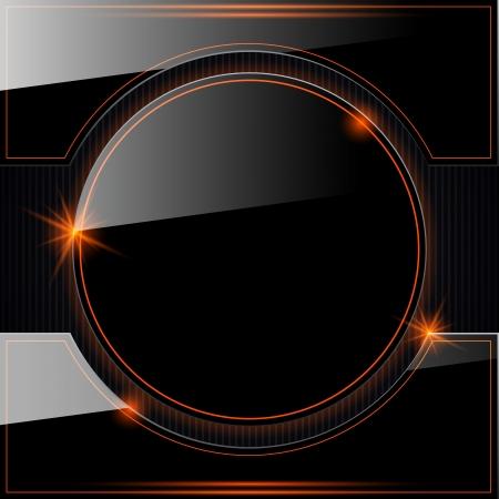 Glass vector background Stock Vector - 20128863