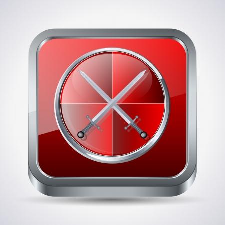 an antivirus: Antivirus vector illustration