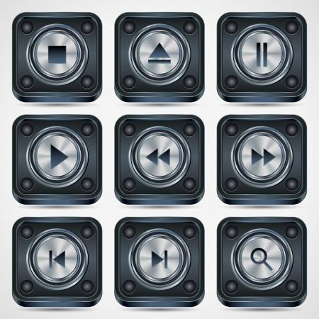Interface icons vector set Stock Vector - 20128868