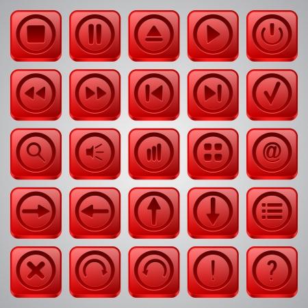 Interface icons vector set Stock Vector - 20128867