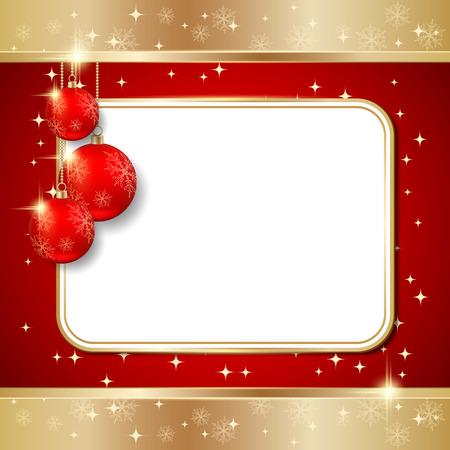 Carte de vecteur de Noël Banque d'images - 22766405