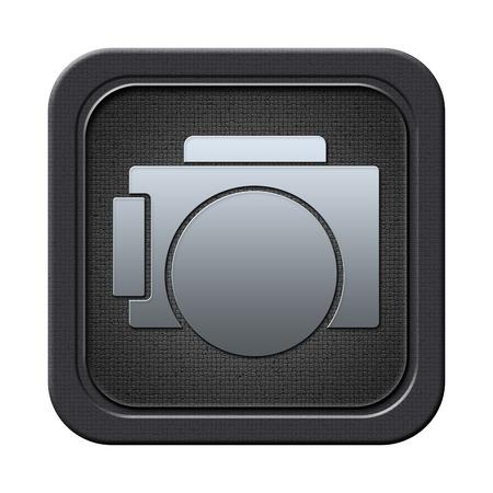 Photo camera button Stock Photo - 23682232