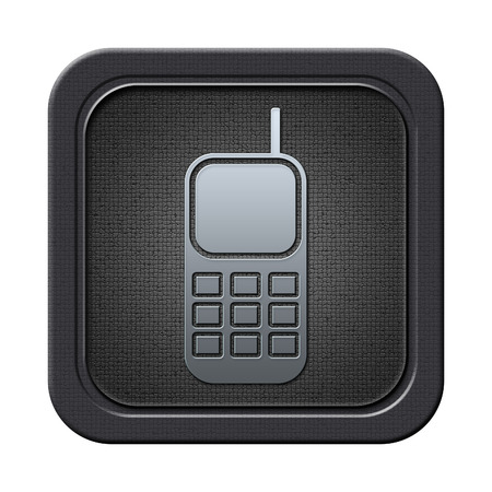 Phone button Stock Photo - 23682233